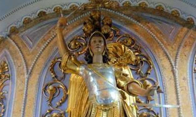 La preghiera di Teodoro a San Michele