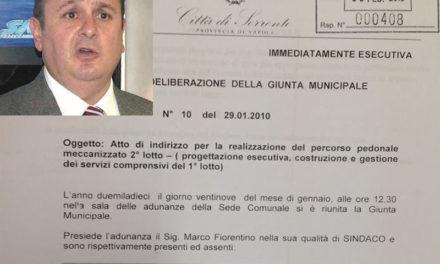 """Ascensori al porto/ Marco Fiorentino si """"incazza"""", ma si scorda del passato"""
