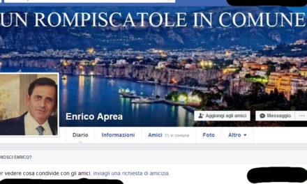 """Sorrento – Bando per il supporto alla progettazione di eventi / Le perplessità di Enrico Aprea: """"Chi riuscirà a partecipare?"""""""