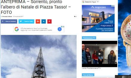 Sorrento/ Dopo la bufera per la lettera farlocca, 1 e 800 euro a Positanonews per la promozione del Natale e 3 mila anche a Metropolis
