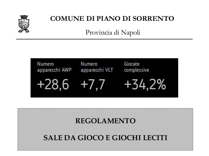 Piano di Sorrento/ Il paradosso: con il regolamento anti-slot le giocate sono aumentate del 34%