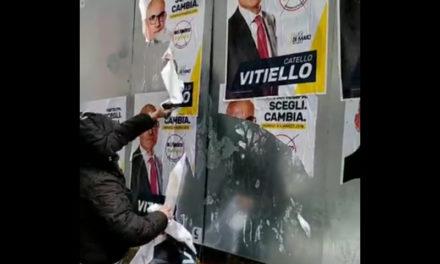 Piano di Sorrento/ I 5 Stelle fanno rimuovere i manifesti elettorali…dei 5 Stelle