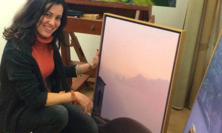 Enzo Prestileo, il pittore della Terra delle Sirene (VIDEO)