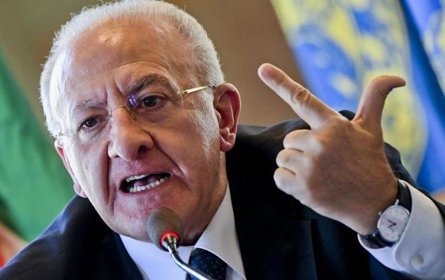 """Emergenza Coronavirus/ """"Revocate i limiti di orari per i negozi di alimentari"""": il Governatore De Luca """"cazzea"""" anche i Sindaci Sagristani e Tito"""