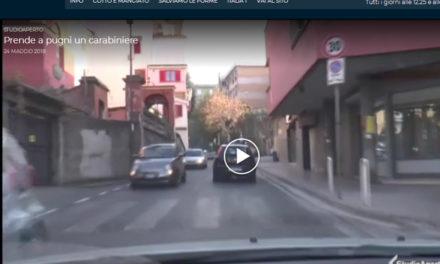 Piano di Sorrento/ Aggressione ad un Carabiniere a Frosinone, ma al TG di Italia 1 ci finisce via Mortora/San Liborio
