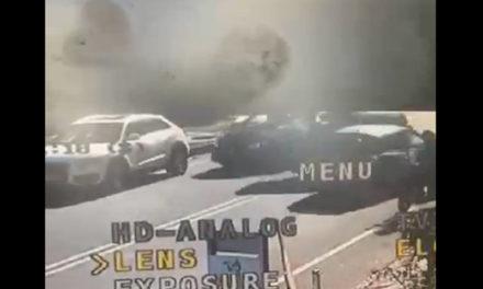 Penisola sorrentina/ Auto su due ruote: il video dello spettacolare incidente di ieri mattina sulla Statale