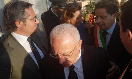"""Penisola sorrentina/ """"Evitiamo che la bandiera blu diventi bianca"""": l'intervento di Sagristani a margine dell'incontro con il Presidente De Luca"""