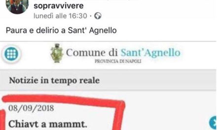 Sant'Agnello/ Frasi oscene sul sito del Comune, ma tutti tacciono
