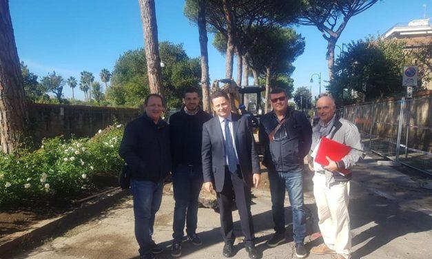 """Sant'Agnello/ """"Tra massimo 48 ore riapriremo parte di via dei Pini"""": l'annuncio del Sindaco Piergiorgio Sagristani"""