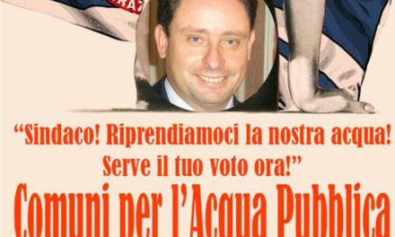 """Sant'Agnello/ """"Sagristani: schierati per l'acqua pubblica"""": l'appello dei Consiglieri del Movimento 5 Stelle"""