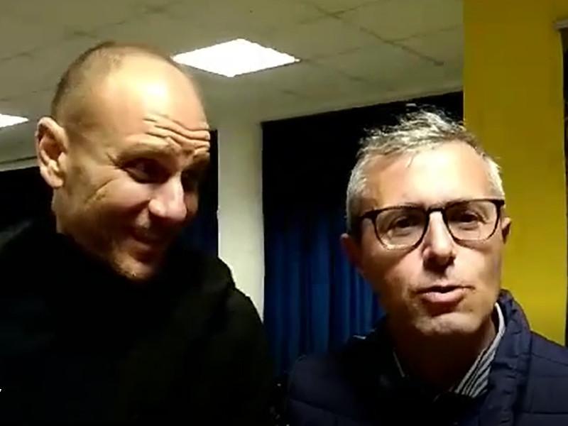 """Meta/ """"Graziano vieni con me a fare il vice-Sindaco"""": il simpatico siparietto tra Peppe Tito e Graziano Maresca (VIDEO)"""