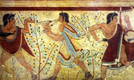 Scacco all'Arte con la Prof / La Pittura Etrusca