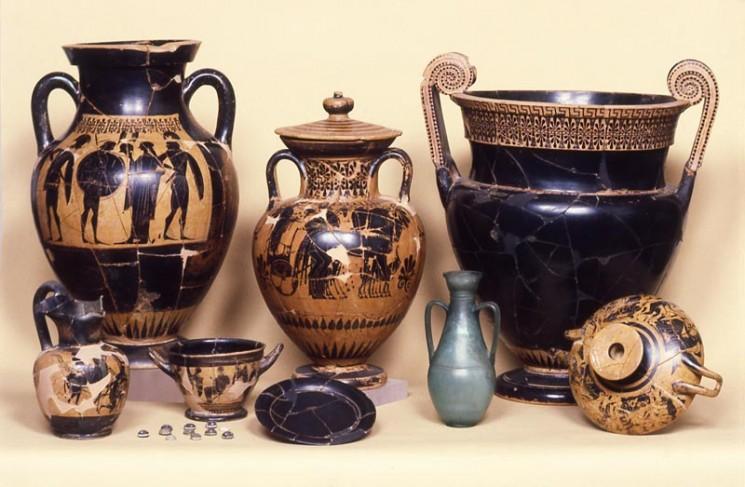 Scacco all'arte con la prof / Arte ed artigianato della civiltà etrusca