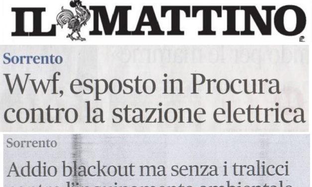 """Sorrento – Vicenda Terna/ Incredibile: Il Mattino """"smentisce""""…Il Mattino"""