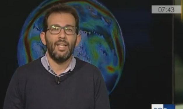 """Penisola sorrentina/ """"Sta accadendo qualcosa a livello dell'oceano Artico"""": l'intervento di Peppe Aulicino sulle variazioni climatiche a Buongiorno Regione Marche"""