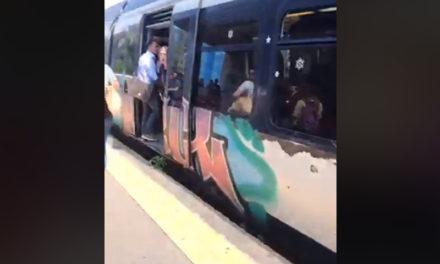 Penisola sorrentina/ Soppressi i treni ordinari, cammina solo quello per i turisti: esplode la rabbia dei pendolari (VIDEO)