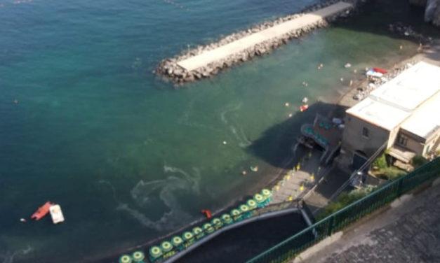 Piano di Sorrento – Marina di Cassano/ Anche oggi il mare è così (LA FOTO DI UN LETTORE)