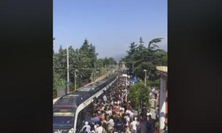Penisola sorrentina/ L'ennesima giornata di passione in treno raccontata da Mariella Nica