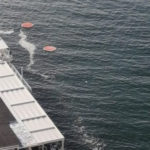 Piano di Sorrento/ Torna la strana scia alla Marina di Cassano (FOTO-NOTIZIA)