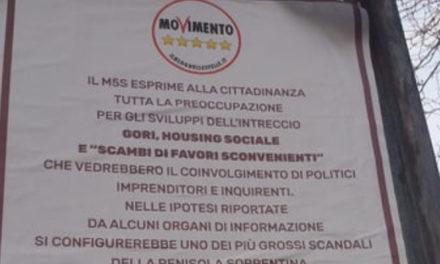 """Penisola sorrentina/ """"L'intreccio GORI, Housing e 'scambi di favori convenienti' ci preoccupa"""": il duro manifesto del Movimento 5 Stelle"""