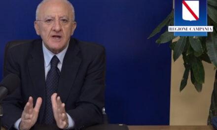 Emergenza Covid/ Lo sceriffo di Salernigham De Luca chiude di fatto anche gli ospedali: ricoveri solo per le emergenze