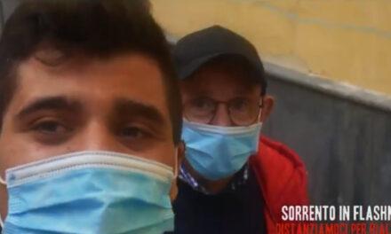 """Emergenza Coronavirus/ """"Distanziamoci per rialzarci"""": un video per promuovere il flash-mob di sabato prossimo a Sorrento (VIDEO)"""