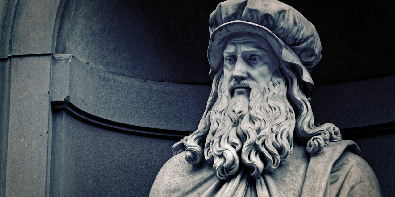 Scacco all'arte / Leonardo da Vinci (1452 – 1519)