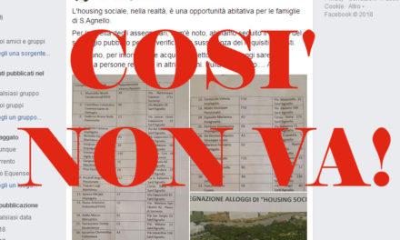 Sant'Agnello – Housing sociale/ Sagristani, i patti erano altri: vogliamo sapere i prezzi, non i nomi