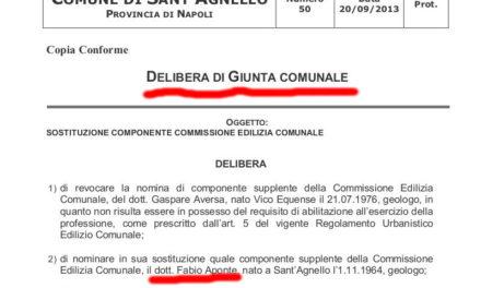 Sant'Agnello – Verso il voto/ Gaffe dei 5 stelle sulla nomina di Aponte in Commissione: non sanno chi lo ha nominato e nemmeno quali erano i suoi compiti