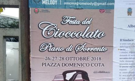 Piano di Sorrento – Sorrento/ Il Comune di Sorrento organizza la festa del Cioccolato a Piano: prove tecniche di Comune Unico?