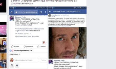 """Piano di Sorrento/ """"Anche Salvini segue il Premio Penisola Sorrentina""""…ma Salvini non lo sa"""