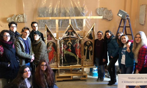 """Sorrento / Museo Correale: il restauro della """"Pietà"""""""