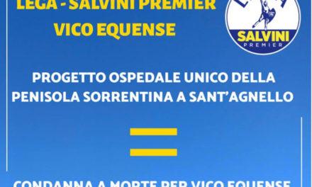 Penisola sorrentina/ La Lega Salvini scende in piazza contro il progetto dell'ospedale unico