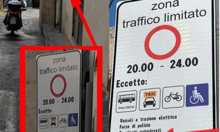 """Piano di Sorrento/ Il """"giallo"""" della ZTL di Marina di Cassano: cambiano i cartelli, ma non l'ordinanza"""