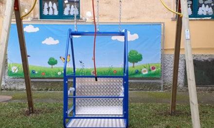 Meta/ Parco giochi abbandonato ed il Comune dirotta le attrezzature per i diversamente abili nelle scuole