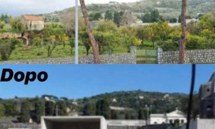 """Sorrento/ """"Guardate cosa ha fatto Terna in via San Renato"""": le foto prima e dopo pubblicate da Eduardo Fiorentino"""
