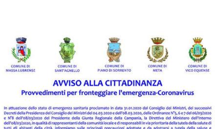 Emergenza Coronavirus/ Arriva il manifesto congiunto dei Sindaci, ma manca la firma del sorrentino Cuomo