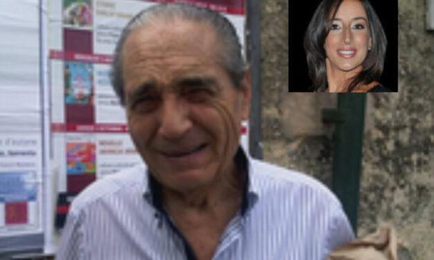 """Piano di Sorrento/ Anna Iaccarino: """"Arrivederci Geppino, con te va via un pezzo di Piano, della politica e della nostra storia"""""""